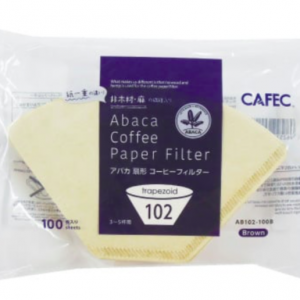 ABACA Trapezoid Filter Paper AB102-100B