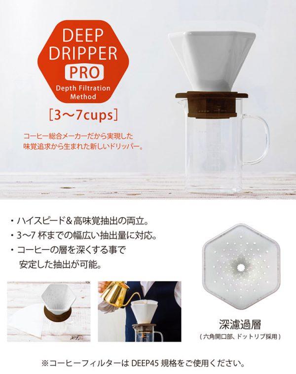 CAFEC DEEP DRIPPER DD-45 1