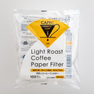 CAFEC Roasting Level Special Paper Filters Light Roast (LC1-100W)