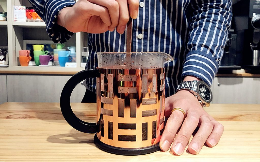 French Press - Brew Guide 4
