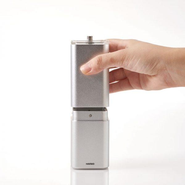 Hario Aluminum Alloy Coffee Mill PRISM 2