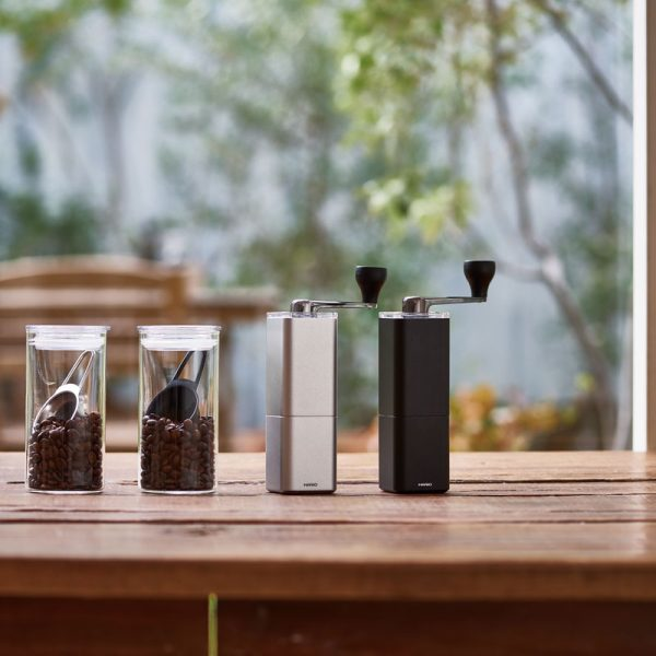 Hario Aluminum Alloy Coffee Mill PRISM 4