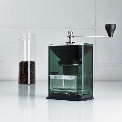 Hario Clear Ceramic Coffee Grinder 2