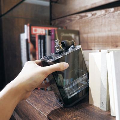 Hario Clear Ceramic Coffee Grinder 3