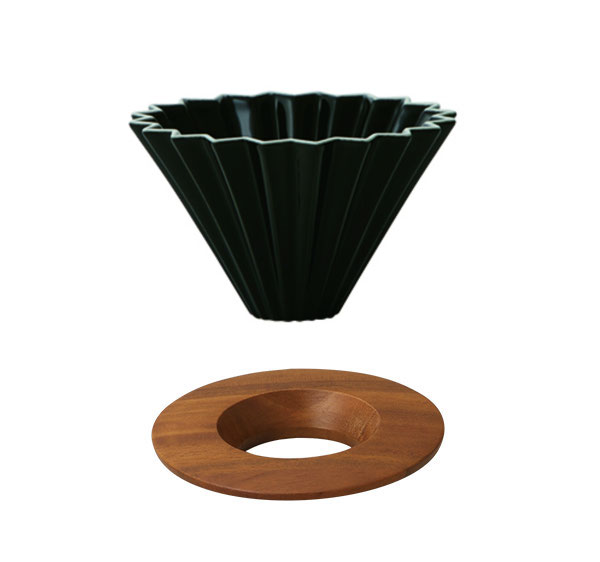 ORIGAMI Coffee Dripper - Black