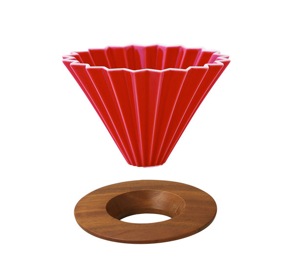 ORIGAMI Coffee Dripper Red