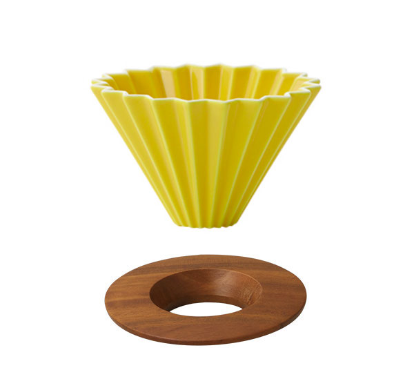 ORIGAMI Coffee Dripper - Yellow