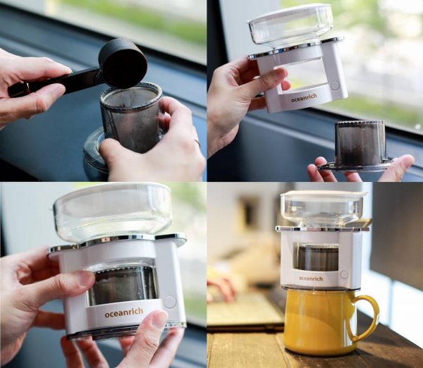 Oceanrich Auto-Drip Coffee Maker 2