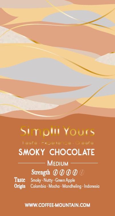 coffee bean - Smoky Chocolate LABEL