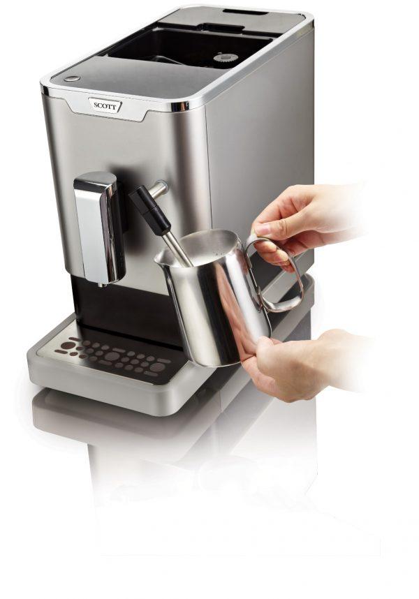 SCOTT SLIMISSIMO & Milk Fully-auto Espresso Machine 3