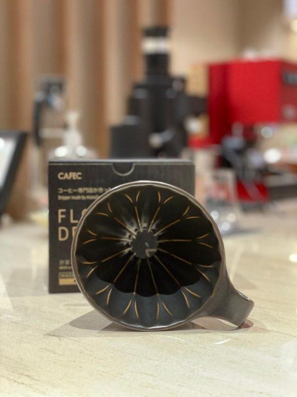 CAFEC Flower Dripper - Mat-black 2