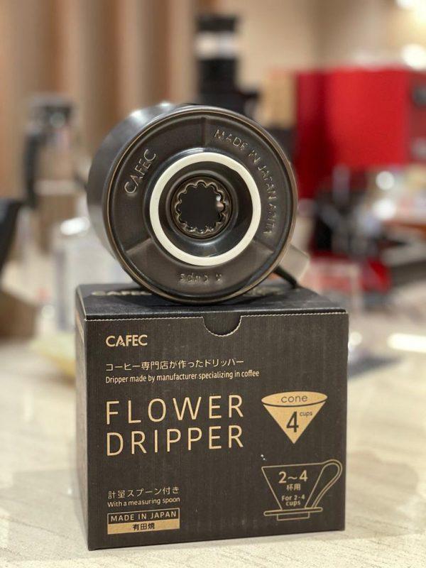 CAFEC Flower Dripper - Mat-black 4